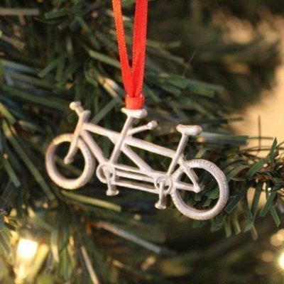 Tandem Bike Keepsake