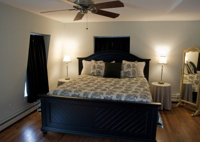 Jersey Shore Bed and Breakfast King Bed Room