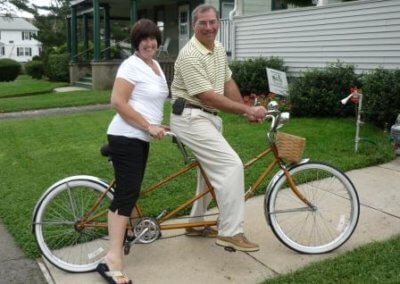 Bike Bill and Patty