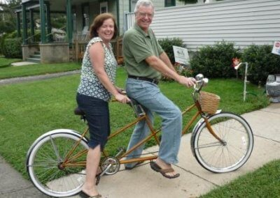 Bike Dick and Eileen
