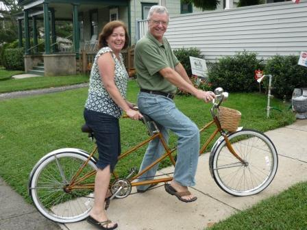Guests Tandem Bike ride at the Jersey Shore 2
