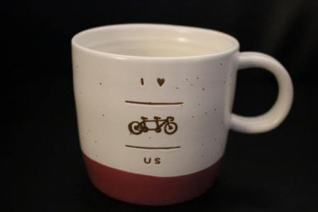 Tandem Bike Inn Coffee cup