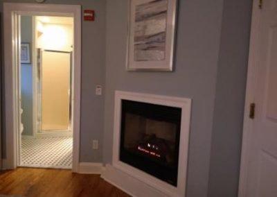 Belmar NJ B&B King room Fireplace