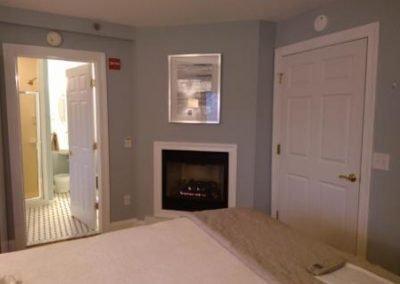 Belmar NJ B&B King Room Fireplace Private Bath