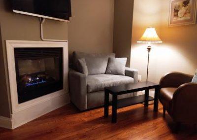 Belmar New Jersey Bed and Breakfast Fireplace