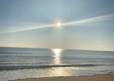 Belmar Beach New Jersey view of beach
